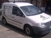 Our van now complete with logo