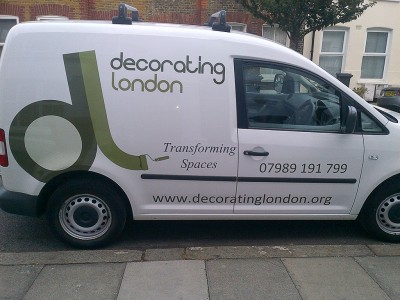 Decorating London Van